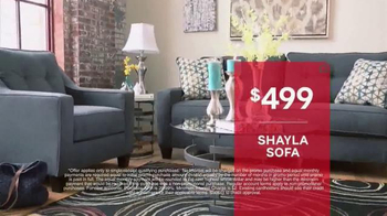 Ashley Furniture Homestore Pre-Memorial Day Sale TV Spot, 'Bed and Sofa' - Thumbnail 5