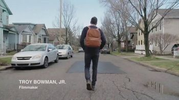 Shinola Runwell Backpack TV Spot, 'VICELAND: Troy Bowman Jr. in Detroit'