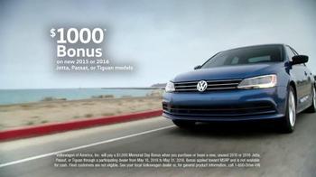 Volkswagen Memorial Day Deals TV Spot, 'Ball Rolling' Song by Saint Motel - Thumbnail 4