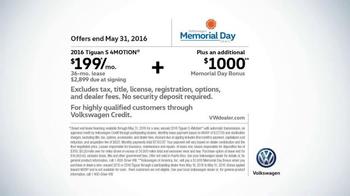 Volkswagen Memorial Day Deals TV Spot, 'Ball Rolling' Song by Saint Motel - Thumbnail 9