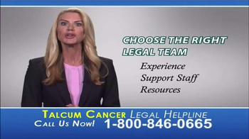 Langdon & Emison Attorneys at Law TV Spot, 'Talcum Powder' - Thumbnail 10