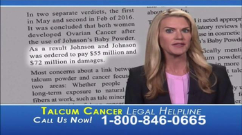 Langdon & Emison Attorneys at Law TV Spot, 'Talcum Powder' - Thumbnail 5