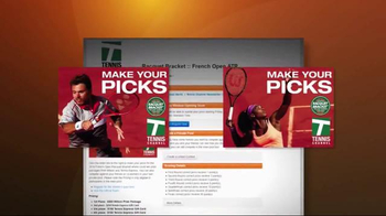 TennisChannel.com TV Spot, 'Racquet Bracket' - Thumbnail 5