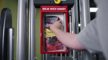 Jack Link's Teriyaki Beef Jerky TV Spot, 'Hangry Hacks: Gym Beast' - Thumbnail 4