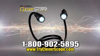 Clever Scope TV Spot, 'Lights and Magnets' - 97 commercial airings