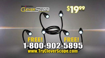 Clever Scope TV Spot, 'Lights and Magnets' - Thumbnail 9
