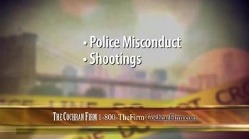 The Cochran Law Firm TV Spot, 'Civil Rights' - Thumbnail 3