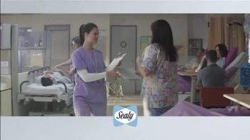 Sealy Premier Hybrid TV Spot, 'Rock-a-bye, Stacy' - Thumbnail 1