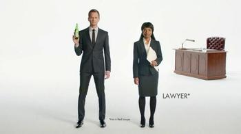 Heineken Light TV Spot, 'The Lawyer' Featuring Neil Patrick Harris - Thumbnail 2