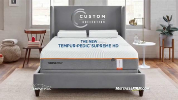 Mattress Firm TV Spot, 'Tempur-Pedic Supreme HD' - Thumbnail 7