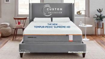 Mattress Firm TV Spot, 'Tempur-Pedic Supreme HD' - Thumbnail 8