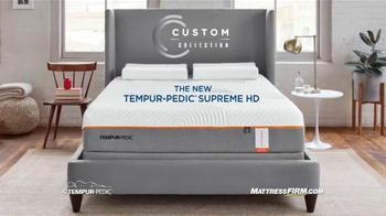Mattress Firm TV Spot, 'Tempur-Pedic Supreme HD' - Thumbnail 9