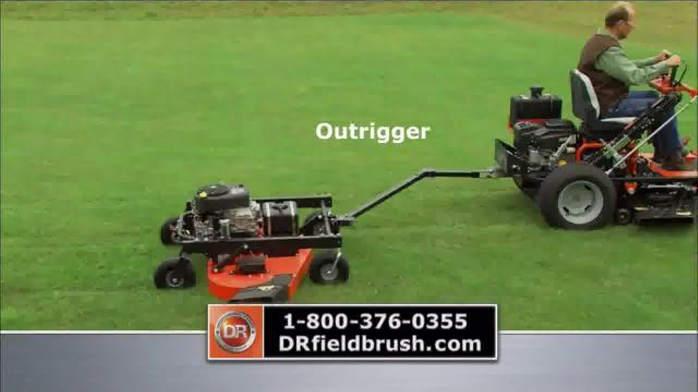 DR Power Equipment Field and Finish Mower TV Commercial, 'In Record Time'