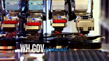 White House TV Spot, 'Computer Science for All' - Thumbnail 6