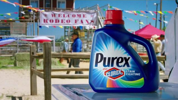 Purex Plus Clorox 2 TV Spot, 'Texas Rodeo' - Thumbnail 1