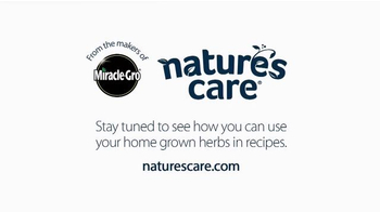 Miracle-Gro Nature's Care TV Spot, 'In-Home Herb Garden' Ft. Claire Thomas - Thumbnail 9