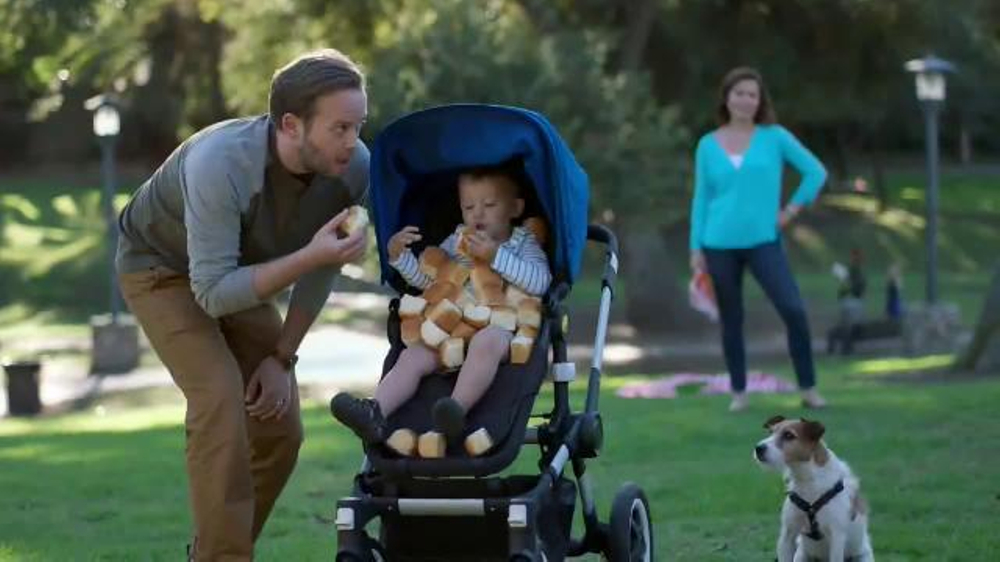 King's Hawaiian TV Commercial, 'Baby on the Roll'