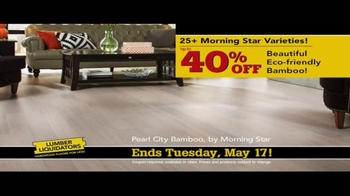 Lumber Liquidators TV Spot, 'No Matter the Style' - Thumbnail 4