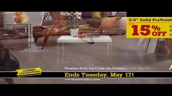 Lumber Liquidators TV Spot, 'No Matter the Style' - Thumbnail 6