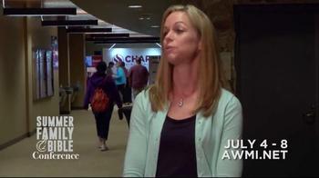 AWMI TV Spot, '2016 Summer Family Bible Conference' - Thumbnail 3