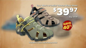 Bass Pro Shops Go Outdoors Event and Sale TV Spot, 'Headwear and Shoes' - Thumbnail 9