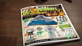 Bass Pro Shops Go Outdoors Event and Sale TV Spot, 'Headwear and Shoes' - Thumbnail 3