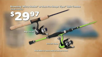 Bass Pro Shops Go Outdoors Event and Sale TV Spot, 'Headwear and Shoes' - Thumbnail 7