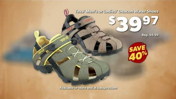 Bass Pro Shops Go Outdoors Event and Sale TV Spot, 'Headwear and Shoes' - Thumbnail 8