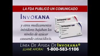 RCRSD TV Spot, 'Línea de Ayuda de Invokana' [Spanish] - Thumbnail 3