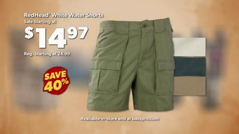 Bass Pro Shops Go Outdoors Event and Sale TV Spot, 'Tents & Shorts' - Thumbnail 6