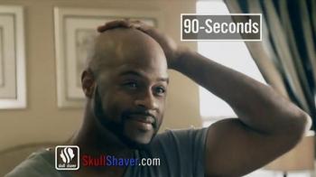Skull Shaver Bald Eagle Shaver TV Spot, 'Toss Those Painful Razors'