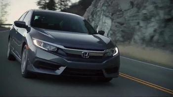 2016 Honda Civic TV Spot, 'Bridge' - Thumbnail 3