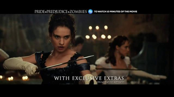 Pride and Prejudice and Zombies Home Entertainment thumbnail