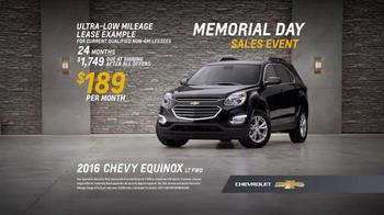 Chevrolet Memorial Day Sales Event TV Spot, 'Crossover Deals' - Thumbnail 7