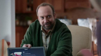 CenturyLink TV Spot, \'Fast Delivery\' Featuring Paul Giamatti