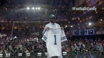National Football League TV Spot, 'Welcome to the Family: Ezekiel Elliott' - Thumbnail 5