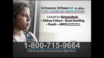 Avram Blair & Associates TV Spot, 'Type-2 Diabetics Medications'