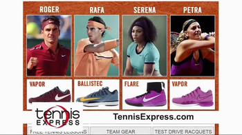 Tennis Express TV Spot, 'Clay Court Season' - Thumbnail 1