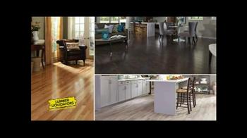 Lumber Liquidators Customer Appreciation Event TV Spot, 'First Steps' - Thumbnail 2