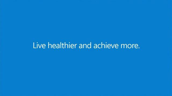 Microsoft Band TV Spot, 'Live Healthier and Achieve More' - Thumbnail 7