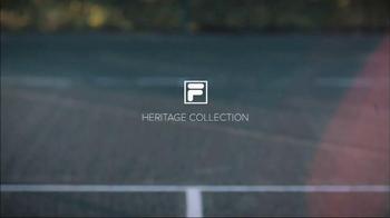 Tennis Warehouse TV Spot, 'Fila Heritage Collection' Featuring John Isner - Thumbnail 1