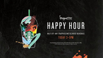 Starbucks Frappuccino Happy Hour TV Spot, 'Sneaking Out Early' - Thumbnail 6