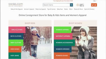 Swap.com TV Spot, 'Online Consignment' - Thumbnail 3