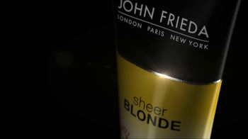 John Frieda Sheer Blonde TV Spot, 'Me & John' - Thumbnail 4