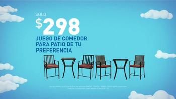 Lowe's Ahorros de Memorial Day TV Spot, 'Juego de comedor' [Spanish] - Thumbnail 4
