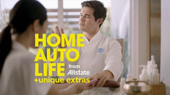 Allstate TV Spot, 'Spa Day' Featuring Adam DeVine - Thumbnail 9