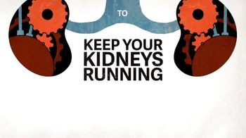 National Kidney Foundation TV Spot, 'Keep Your Kidneys Running'