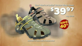 Bass Pro Shops Go Outdoors Event and Sale TV Spot, 'Water Shoes & Vests' - Thumbnail 5