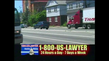 1-800-US-LAWYER TV Spot, 'Dangerous Streets' - Thumbnail 1