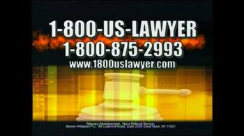 1-800-US-LAWYER TV Spot, 'Dangerous Streets' - Thumbnail 3